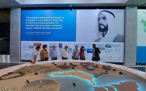 Prefeito Edvaldo visita Masdar, cidade tecnológica nos Emirados Árabes