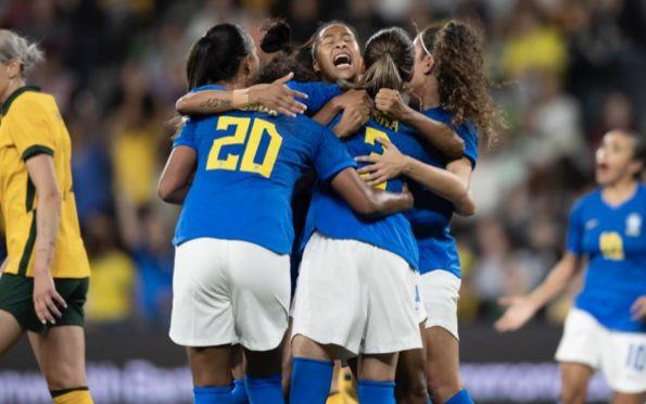 Seleção feminina arranca empate em 2 a 2 com Austrália em 2º amistoso