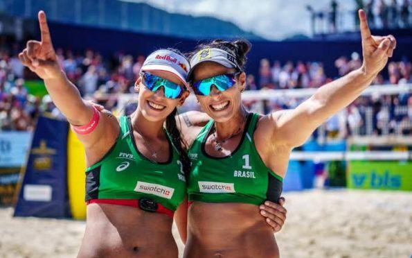 Vôlei de praia: Ágatha e Duda não jogarão mais juntas a partir de 2022