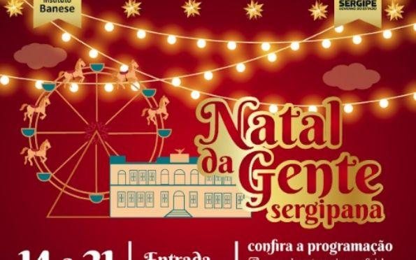 Instituto Banese e Governo realizam o Natal da Gente Sergipana