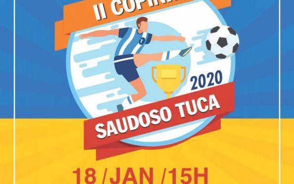 Anderson de Tuca apoia II Copinha de Futsal Saudoso Tuca
