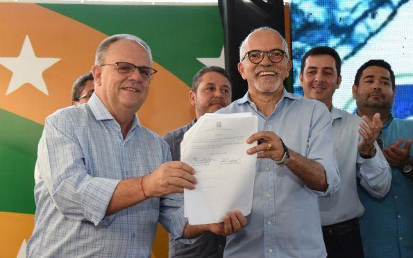 PMA e Governo querem universalizar saneamento em Aracaju até 2033