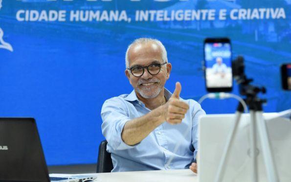 Edvaldo Nogueira responde a críticas da oposição sobre campanha do IPTU