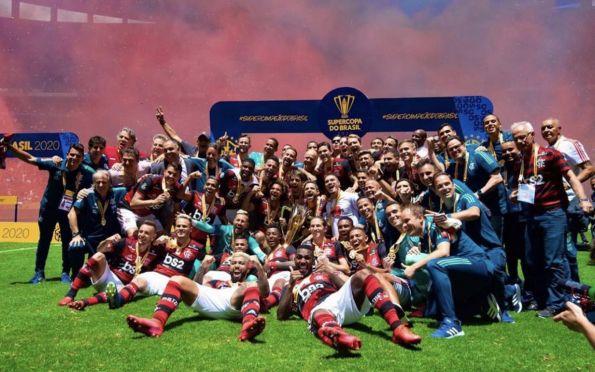 Flamengo inicia 2020 com título da Supercopa do Brasil