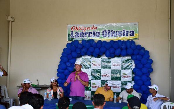 Laércio destaca importância de incentivo aos pequenos produtores em São Domingos