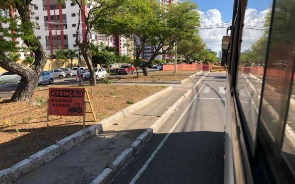 Avenidas em obras continuam com alterações no trânsito neste sábado
