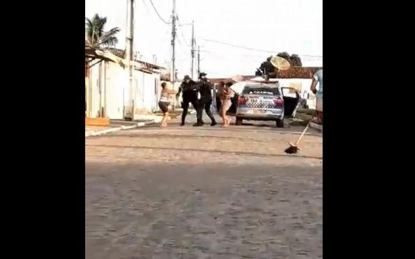 PM esclarece vídeo que mostra agressão contra mulher em Neópolis