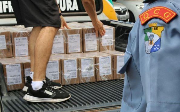 SE inicia compras de equipamentos e recebe cerca de 450 mil munições