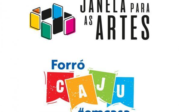 Abertas inscrições dos programas Janela para as Artes e Forró Caju em Casa