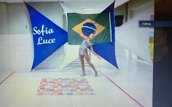 Sergipanas ganham título em torneio internacional virtual de Ginástica Rítmica