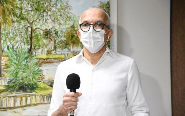 """""""Não era necessária"""", diz Edvaldo sobre operação do Hospital de Campanha"""
