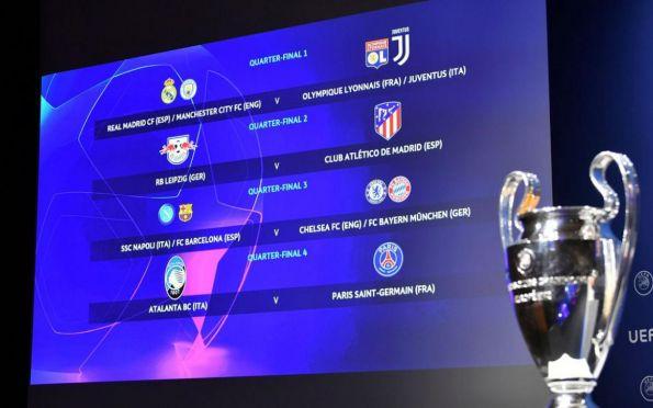 Mata-mata da Liga dos Campeões possibilita finalista inédito