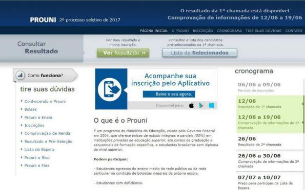 Prouni vai disponibilizar 167.789 bolsas em 1.061 instituições privadas