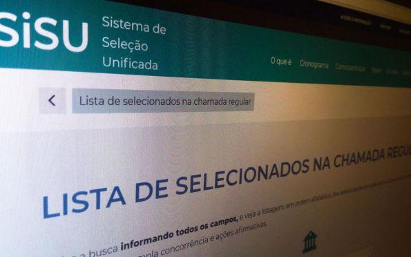Sisu tem 814,47 mil candidatos inscritos, aponta MEC