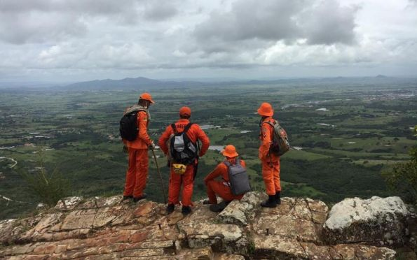 Bombeiros realizam mapeamento das áreas de riscos na Serra de Itabaiana