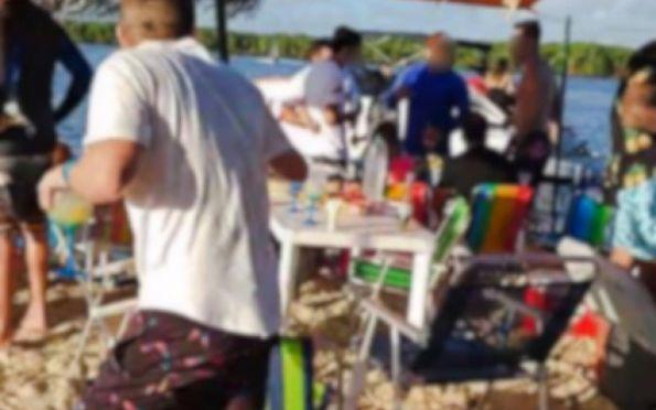 Polícia vai investigar festa na Crôa do Goré durante a pandemia