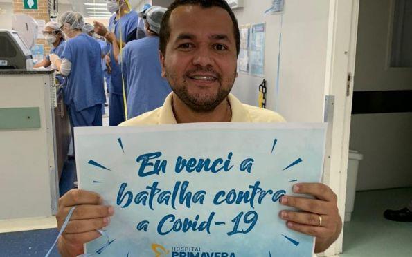 Padre Marcelo Conceição se recupera da covid-19 após 12 dias internado