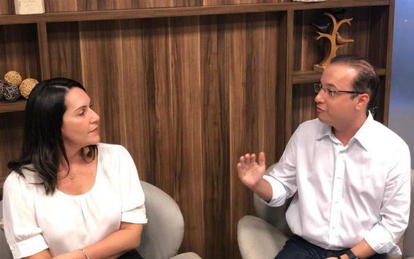 Danielle e Valadares Filho selam aliança para disputa à prefeitura de Aracaju