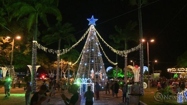 Fecomércio inaugura terceira edição do Natal Iluminado
