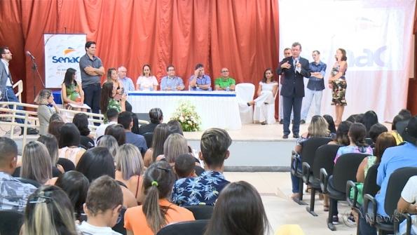 Senac forma turmas de cursos profissionalizantes em Estância e Simão Dias