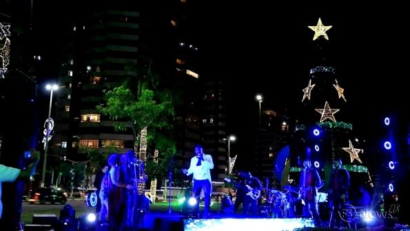 Concerto da Esperança encanta aracajuanos no Natal Iluminado