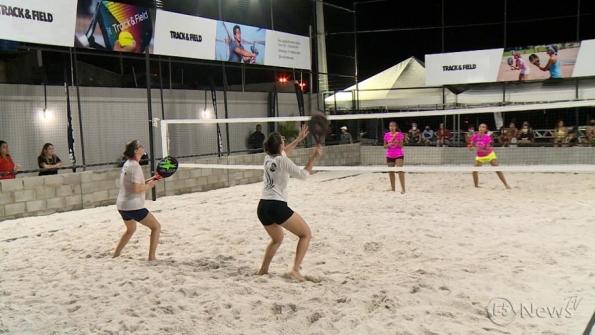 1º Open Wert de Beach Tênis movimenta final de semana em Aracaju