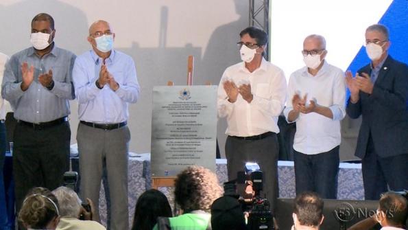 Ministro da Educação inaugura instalações da maternidade do HU em Aracaju