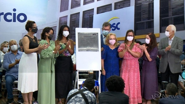 Fecomércio inaugura Sesc Comércio no Centro de Aracaju